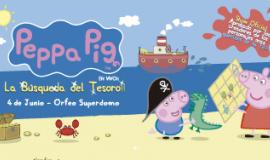LA PEPPA PIG-La búsqueda del tesoro!!